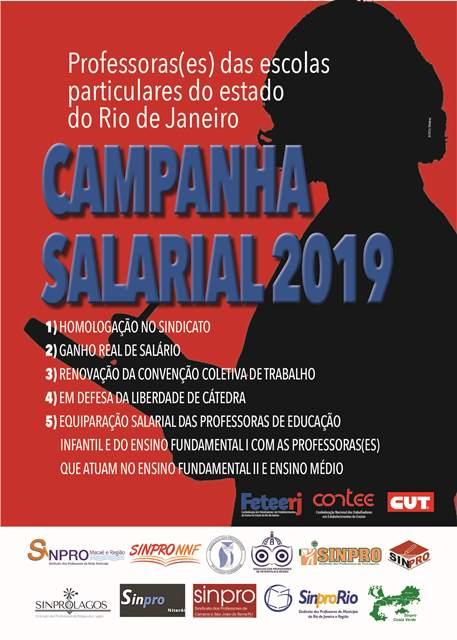 Professores das escolas particulares de Petrópolis e Região, participem da Campanha Salarial 2019